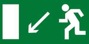 E08 выход налево вниз