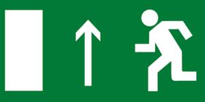 Е12 направление к выходу прямо левосторонний